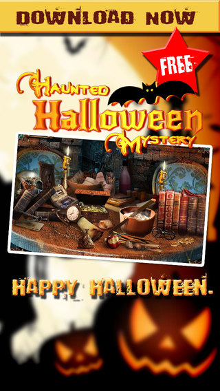 Haunted Halloween Mystery - Hidden Object Mysteries - Free