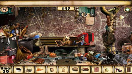 【免費遊戲App】Hidden Objects The Antique Places-APP點子