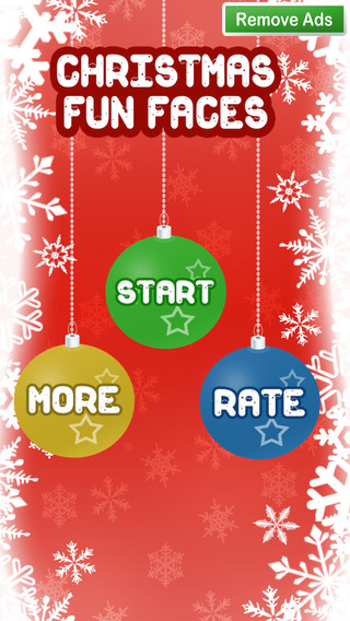 Christmas Fun Faces - Make yourself Santa Claus this Christmas have Fun Sharing with Your Friends