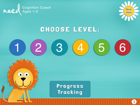 Cognition Coach - NACD Simply Smarter sequential processing for toddlers to age 3