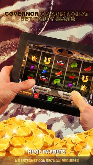 Governor of Aristocrat Bet Party Slots - FREE Slot Game Big Jackpot Joy of Winning