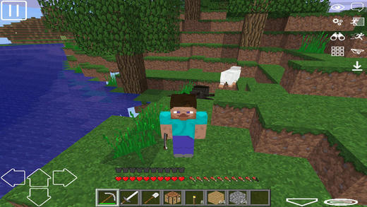 WorldCraft & Exploration Screenshots