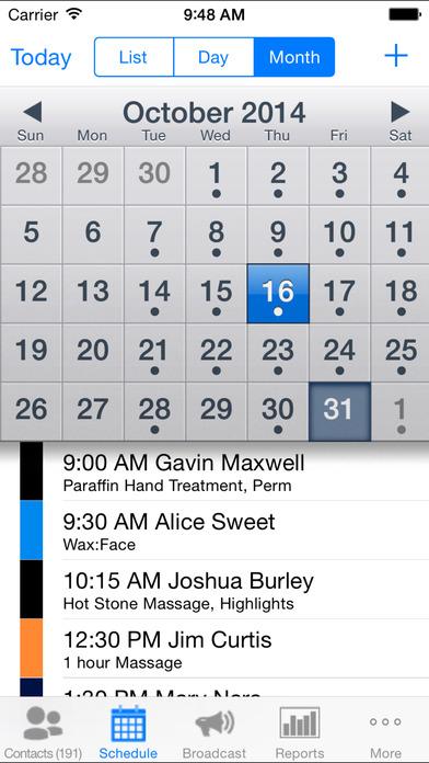 MyChair iPhone Screenshot 3