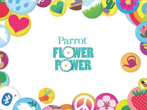 Parrot Flower Power for iPad