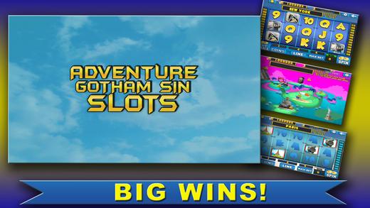 Aaaah Adventure Gotham City Slots - NYC Las Vegas Casino Deluxe