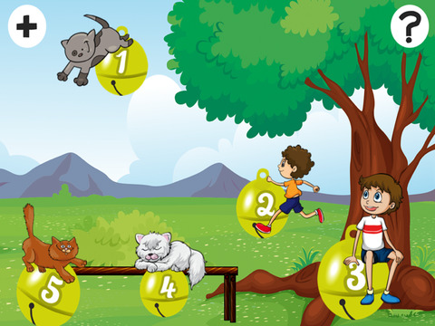 Активный! Калибровка Игра Для Детей, Чтобы Учиться И Играть С Кошками