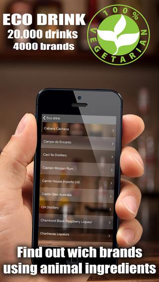 Eco Drink - Vegan eco alcohol directory