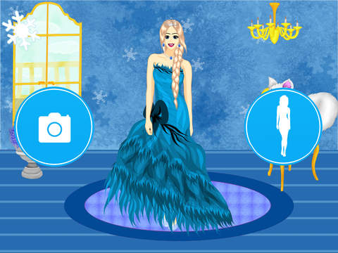 Princess dress up frozen salon design your best own top for A star is born kids salon