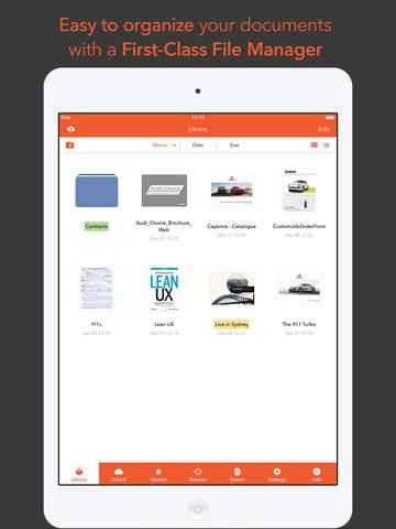nextPDF Pro - Premium PDF Reader, Annotator & Form-Filler Screenshots