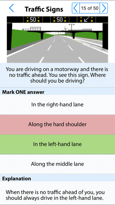 UK PCV Theory Test iPhone Screenshot 4
