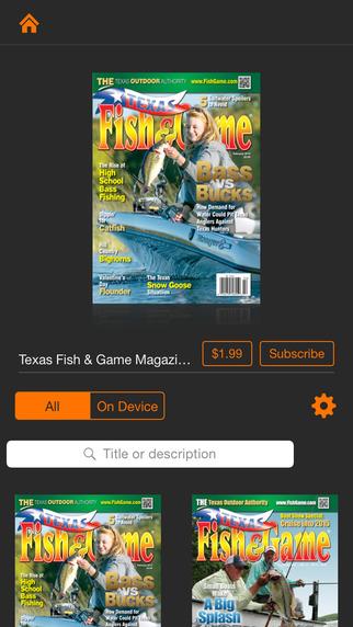 Texas Fish Game Mag