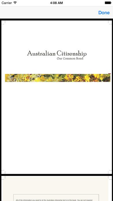 Australian Citizenship iPhone Screenshot 5