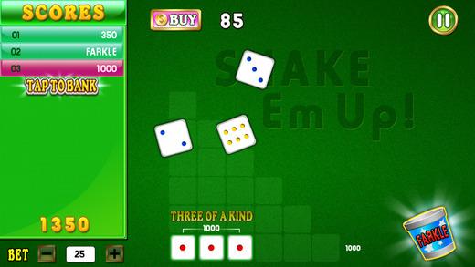 Farkle HD Addiction - Free Dice Blitz Game