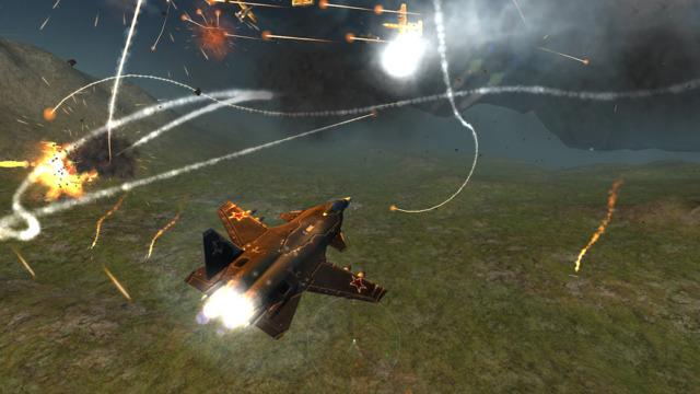Air Force Supersonic HD - Flight Simulator