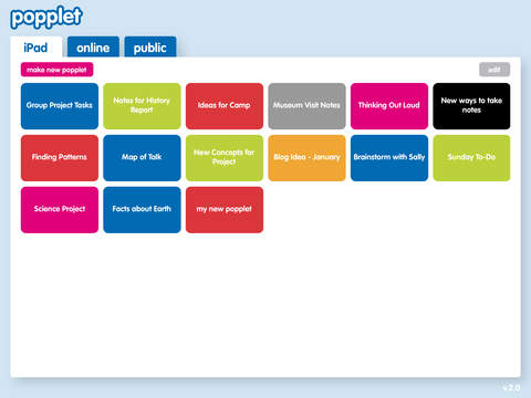 Popplet iPad Screenshot 5