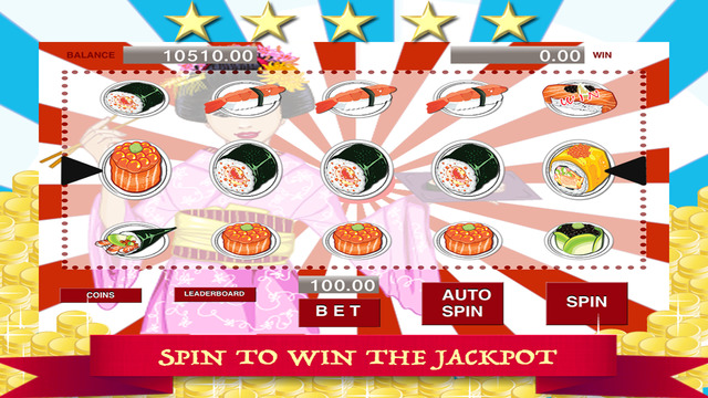 AAA Yummy Sushi Slots - Spin to Win the Jackpot