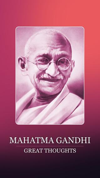Mahatma Gandhi's Thoughts