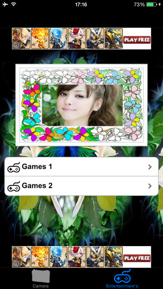 Butterfly Photo Frames Effect