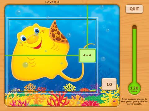 Addition UnderSea Adventures Games HD Free Lite - for iPad iPad Screenshot 3