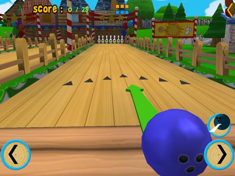 cats bowling for kids iPad Screenshot 2