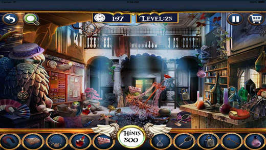 Hidden Objects 100 levels unlimited fun