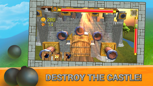Castle Catapult 3D