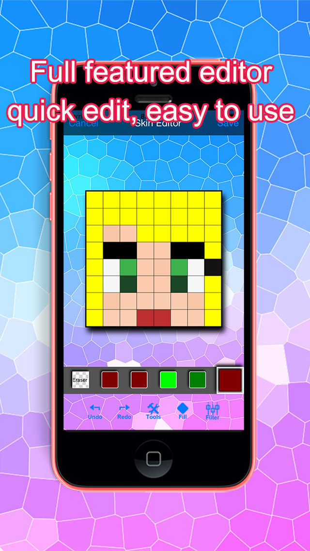 App Shopper PE Girl Skins For Minecraft Pocket Edition Utilities - Skins para minecraft quick