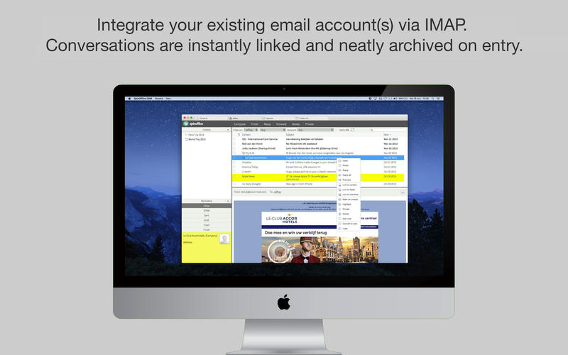 SpinOffice CRM for Mac