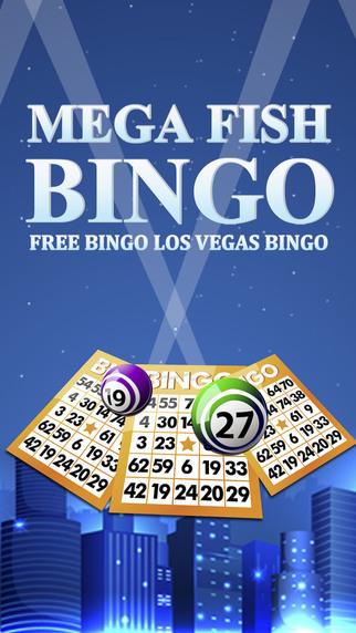 Mega Fish Bingo - Free Bingo Los Vegas Bingo