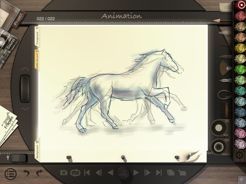 《绘图工具 - 动画桌iPad版 Animation Desk™ Premium [iPad]》