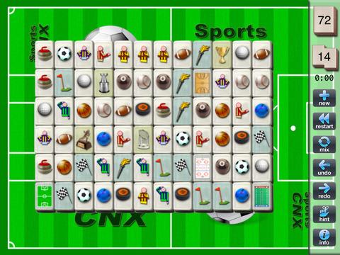 SportsCNX iPad Screenshot 1