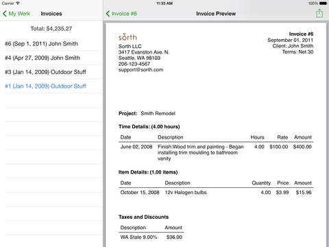 Screen shot of time and materials invoice hd walls find wallpapers