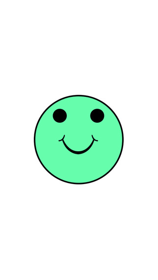Green Smiley Jump - JumpingFace