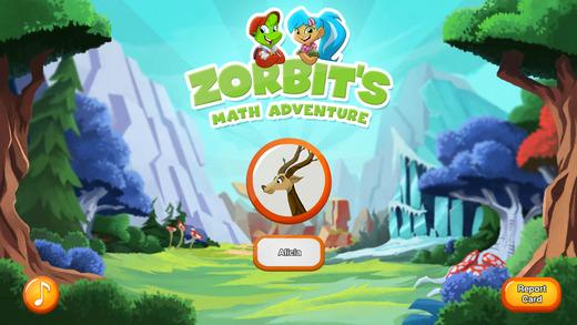 Zorbit's Math Adventure K1