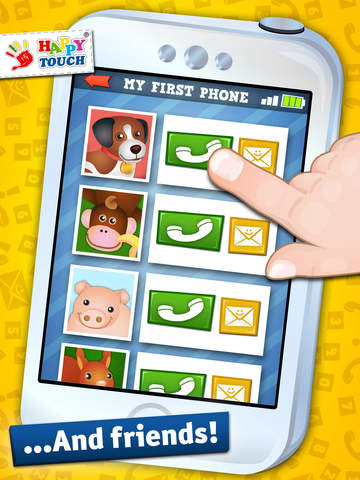 All Kids Can Phone Animals! By Happy-Touch®