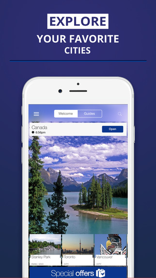 Canada - your travel guide with offline maps from tripwolf guide for sights tours and hotels in Vanc