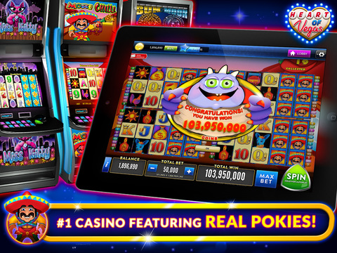 play free heart of vegas casino slots online