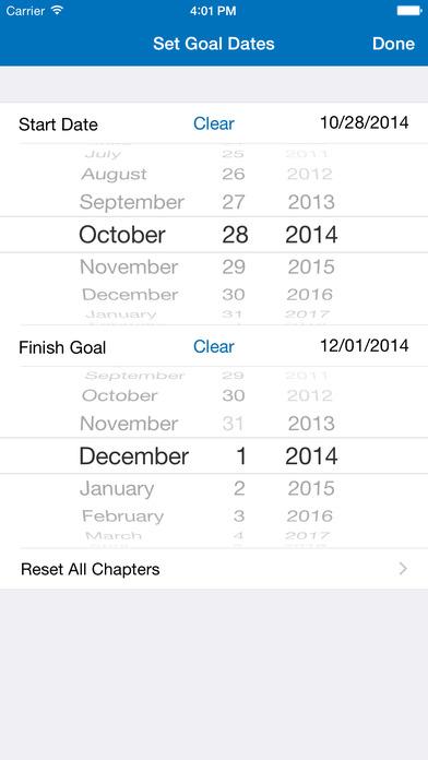 Chapter Tap - LDS Scriptures iPhone Screenshot 4