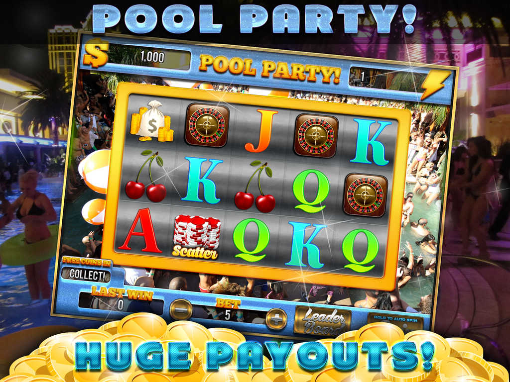 slots casino bonus pool