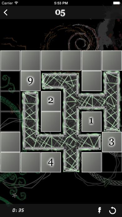 Nurikabe Vault iPhone Screenshot 2