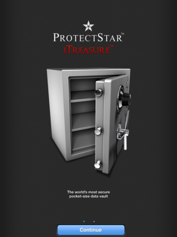 iTreasure Pro: Secure Pocket Safe and encrypted-data vault Screenshots
