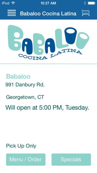 Babaloo Cocina Latina