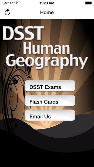 DSST Human Cultural Geography Buddy