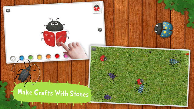 Labo Pebble Art - 22 stone art crafts & games for kids 3+ Screenshots