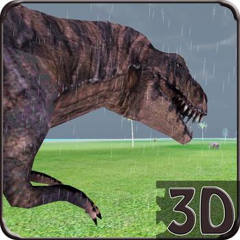 Tyrannosaurus Rex Jurassic Simulator Jungle Hunt 遊戲 App LOGO-APP試玩