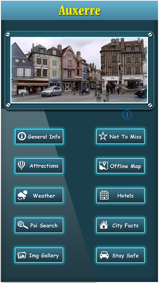 Auxerre Offline Map City Guide