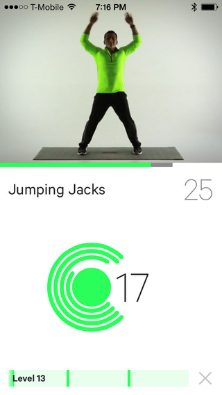 Moov 7 Minute+ Workout Coaching + Tracking
