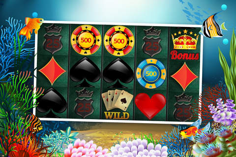 Abyss Slots Casino Great Blue Edition - An Underwater World of Free To Play Slot Machine Games screenshot 3