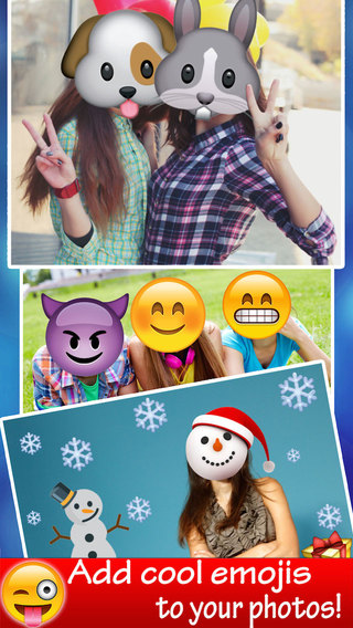 Emoticons On Happy Faces - Emoji Picture Creator With Image Resizer For Funny Face
