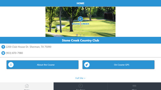 Stone Creek Golf